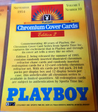 Load image into Gallery viewer, PLAYBOY - Chromium - SERIES 1 & 2 - Complete 100 Card Sets w/Factory Binder & Promo