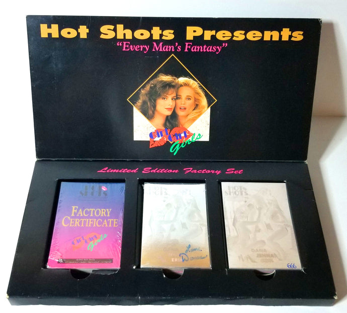 Hot Shots - Girls Girls Girls - Limited Edition Factory Sealed Boxed Set #666- (No Outside Shrink Wrap)