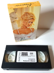 Image 2000 - VHS Casette Tape - Lingerie, The Secret Art of Seduction - Rare