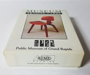 CHAIRS - Museum Trading Cards - Boxed 36 Card Set - Acme Studios