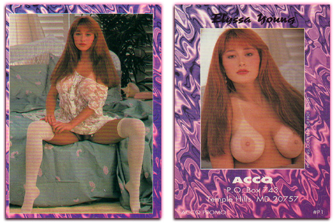 Hot Shots - Elyssa Young - ACCQ Purple Promo Card #P1