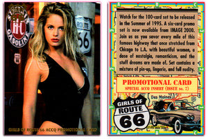 Image 2000 - Girls of Route 66 - Gold Foil Seal, Special ACCQ Insert Promo Card