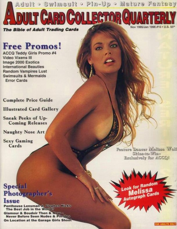 ACCQ Magazine - Nov 1995 - Jan 1996 - Adult Card Collectors Quarterly - Rare Magazine