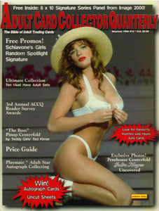 ACCQ Magazine - May/July 1996 - Adult Card Collectors Quarterly - Rare Magazine