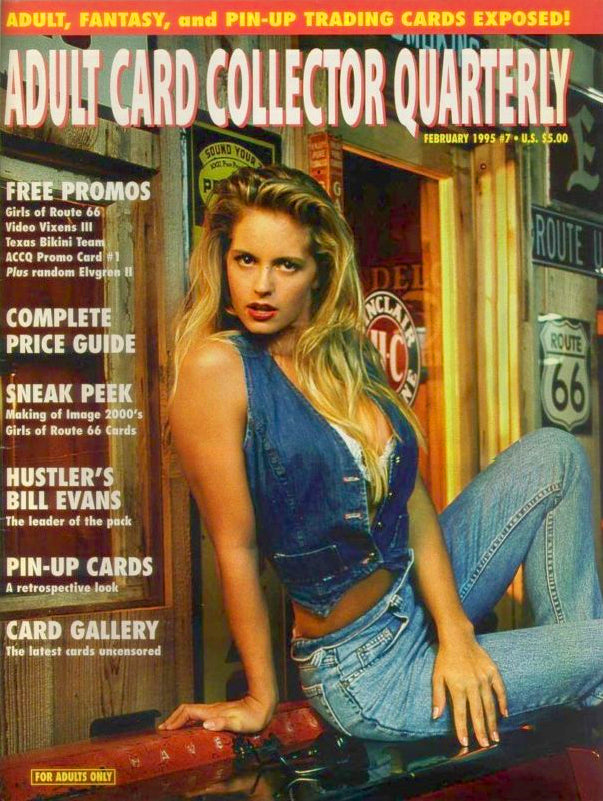 ACCQ Magazine - February 1995 - Adult Card Collectors Quarterly - Rare Magazine