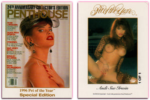 Penthouse - Andi Sue Irwin - Pet of the Year - Autograph Card 1 of 1 - Unsigned