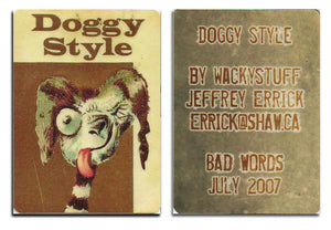 ACEO Edition - DOGGY STYLE - Jeffrey Errick