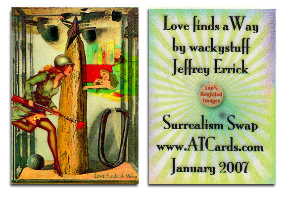 ACEO Edition - LOVE FINDS A WAY - Jeffrey Errick