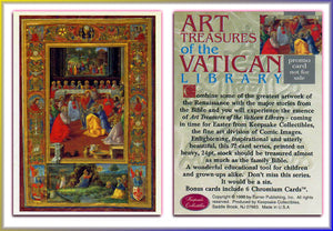 Art Treasures of the Vatican - Turner Publishing - Promo Card