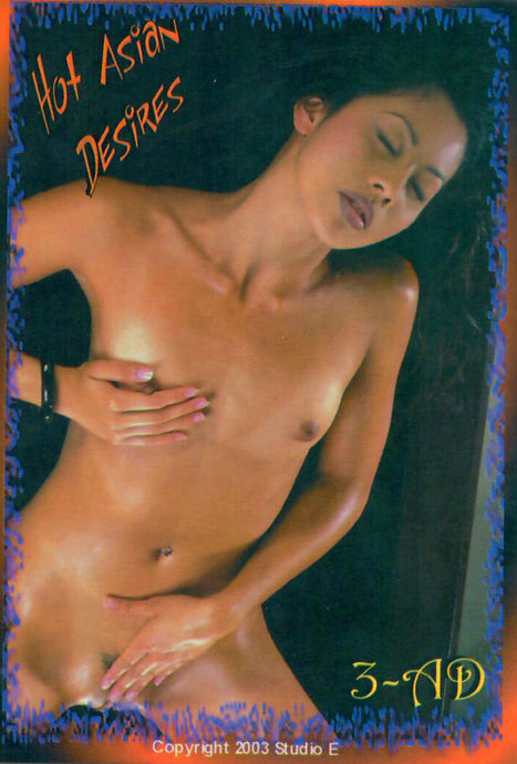 Asian Ecstasy - Hot Asian Desires -  JUMBO 3.5x5 Promo Card - 3-AD - Studio E