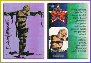 Dave Nestler - New American Pinups - Autographed Card (V1)