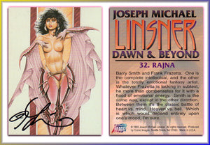 Joseph Michael Linsner - DAWN & Beyond - Autographed Card (V1)