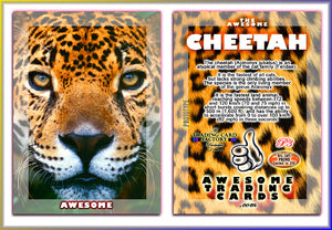 Awesome Trading Cards - Big Cats - 3 Card Promo Set