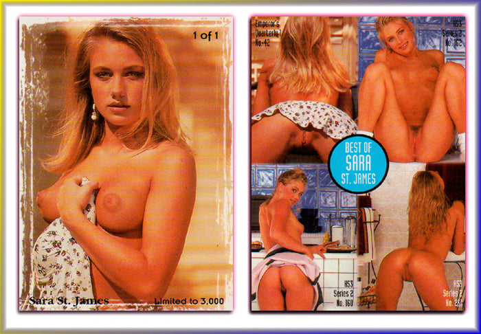 Hot Shots - Special Editions - BEST OF Sara St. James - 1 of 1 Card - Limited to 3000