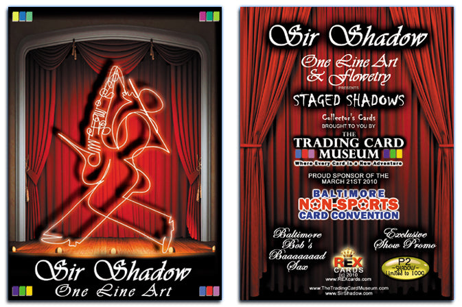 BNSCS - Baltimore Non-Sports Card Show 2010 - SIR SHADOW - Promo Card P2
