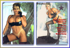 Becky Sunshine - Silver Star Productions - Silver Foil Promo Card