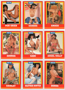 Black is Beautiful - Series I - Complete 18 Card Set - Pam Grier - Players International