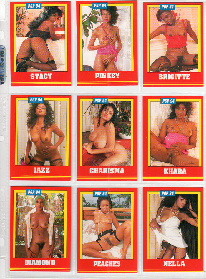 Black is Beautiful - Series II - Complete 18 Card Set - Pam Grier - Players International