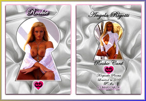 Climax Cards - Rookie Card Keepsake Promo P4 - Angela Rigotti