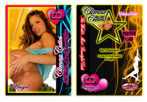 Climax Cards - Cuties 3 Card Preview Promo Set P1 - P3 - ANGEL VEGA
