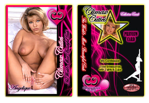 Climax Cards - Cuties 3 Card Preview Promo Set P1 - P3 - ANGELIQUE MARCELO