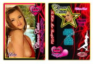 Climax Cards - Cuties 3 Card Preview Promo Set P1 - P3 - LOLA DIOR