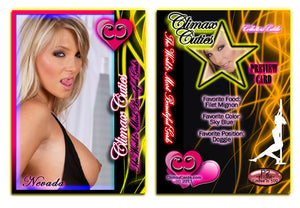 Climax Cards - Cuties 3 Card Preview Promo Set P1 - P3 - NEVADA SMILES