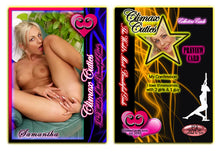 Load image into Gallery viewer, Climax Cards - Cuties 3 Card Preview Promo Set P1 - P3 - SAMANTHA STORM