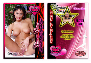 Climax Cards - Cuties 3 Card Preview Promo Set P1 - P3 - SHELLY CANYON
