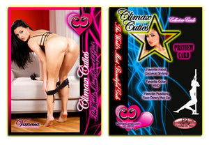 Climax Cards - Cuties 3 Card Preview Promo Set P1 - P3 - VANESSA VENTURA