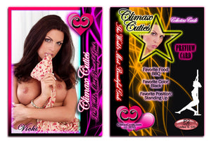Climax Cards - Cuties 3 Card Preview Promo Set P1 - P3 - VICKI SIMMONS