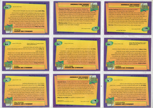 Club Pro Set - Animals on Safari - 9 Card Promo Set