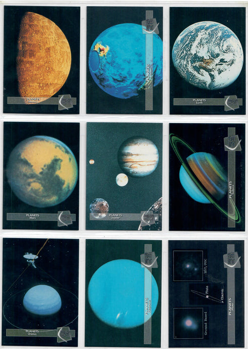 Club Pro Set - Planets - 9 Card Promo Set