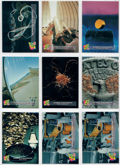 Club Pro Set - Science & Electricity - 9 Card Promo Set