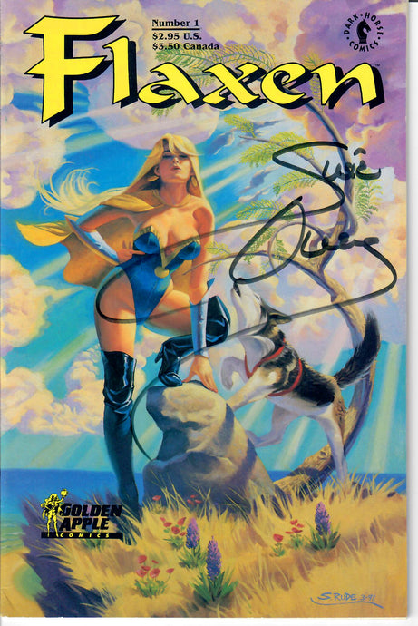 FLAXEN - Susie Owens Autographed - Adult Comic Book - Number 1