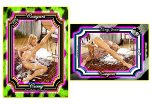 Climax Cards - COUGARS - 9 Card Set - COREY JONES