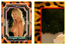 Load image into Gallery viewer, Climax Cards - COUGARS - 9 Card PUZZLE Set - RACQUEL QUINN