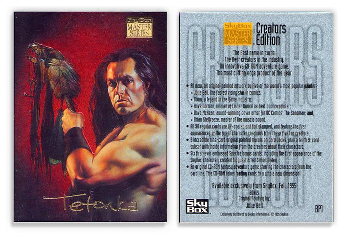 Skybox - Masters Series - Creators Edition - Gold Foil Promo Card - BP1 Embossed