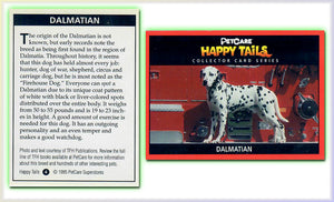 Dalmation - Happy Tails - Collector Card Series - PetCare Superstores - Promo Card 4