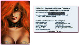 DAWN - Patco - Comic/Fantasy Telecards - Limited Edition Phone Card - Unused
