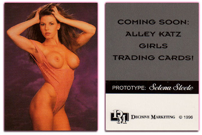 Alley Katz Girls - Selena Steele - Prototype Promo Card - Decisive Marketing