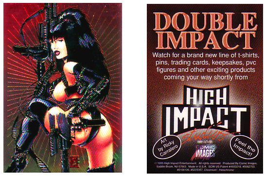 High Impact - Double Impact - Chromium Promo Card - Feel The Impact!