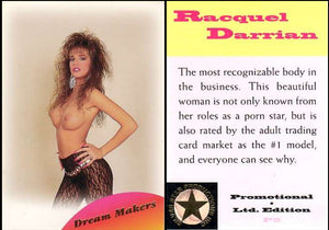 Racquel Darrian- Silver Star Productions - GOLD Foil Promo Card - P2