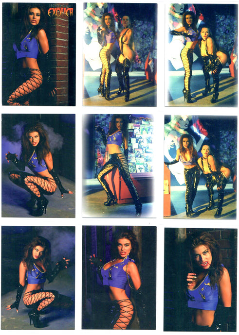 London Night Exotica - Trading Card Set - EH! Productions - Everette Hartsoe - 18 CardSet