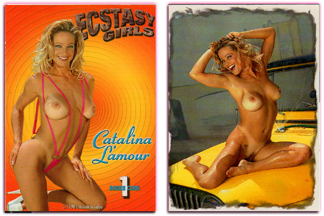 Ultravision - Ecstasy Girls - Catalina L'amour - BONUS CARD 1