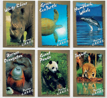 Load image into Gallery viewer, Endangered Species - PURINA C..A.R.E.S. - Ralston Purina - 6 Card Promo Set