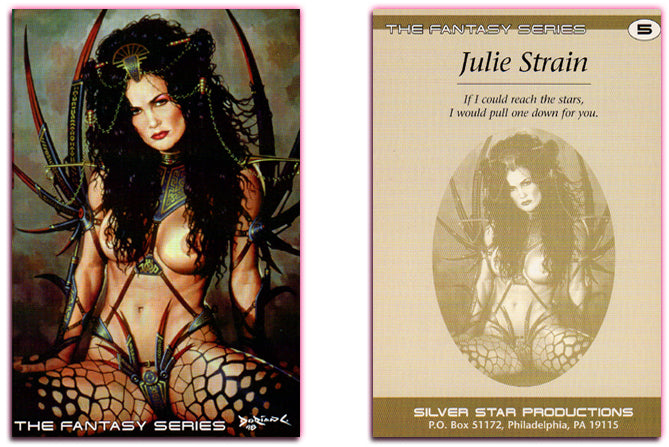 Silver Star - THE FANTASY SERIES - Jumbo - Julie Strain - Card 5 - Dorian Cleavenger Artwork