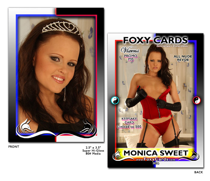 Foxy Cards- Vixens Keepsake Promo Card P20 - JO