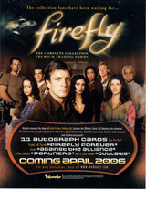 Load image into Gallery viewer, Sell Sheet - FIREFLY - The Complete Collection Premium Trading Cards  - Inkworks - Counter Slick