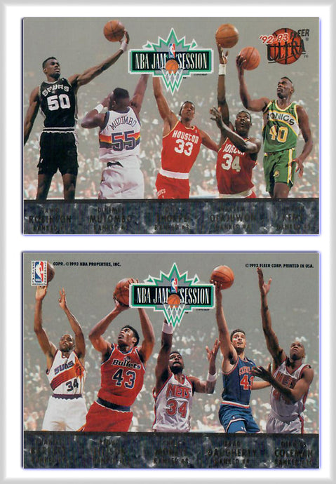 Fleer - ULTRA -  AMA Jam Session - 10 Player Gold Foil - Promo Card - Variation B